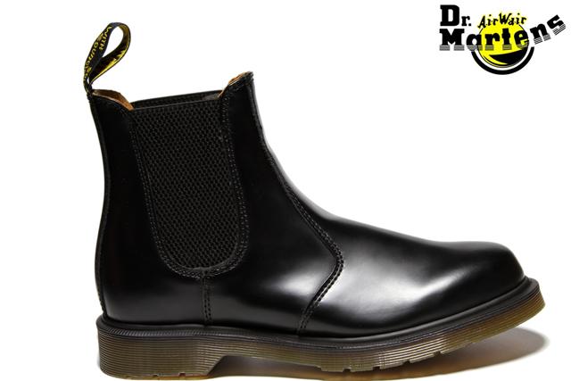 Dr.Martens CHELSEA BOOT 2976 11853001 BLACKドクター・マーチン チェルシー ブーツ SMOOTH スムースレザー サイドゴア ブラック メンズ レディース ブーツ 定番