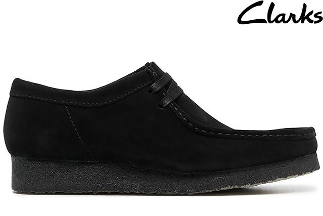 即日発送 オンライン限定商品 Clarks WALLABEE BOOT BLACK SUEDE ワラビーブーツ クラークス メンズ ブラック 26155519 スエード 新品