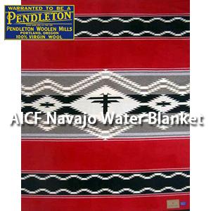 PENDLETON 「NAVAJO WATER」 BLANKET ZE788-50475ペンドルトン ナバジョ ウオーター ブランケット レッド ブラック ベッドカバー ソファーカバー