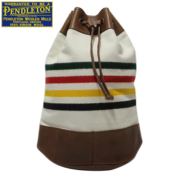 PENDLETON 「National Park Collection」Glacier Park Duffle Backpack Leather Trim gc815ペンドルトン ナショナル パーク コレクション ダッフル バッグ カバン ショルダー made in USA ネイティブ アメリカン