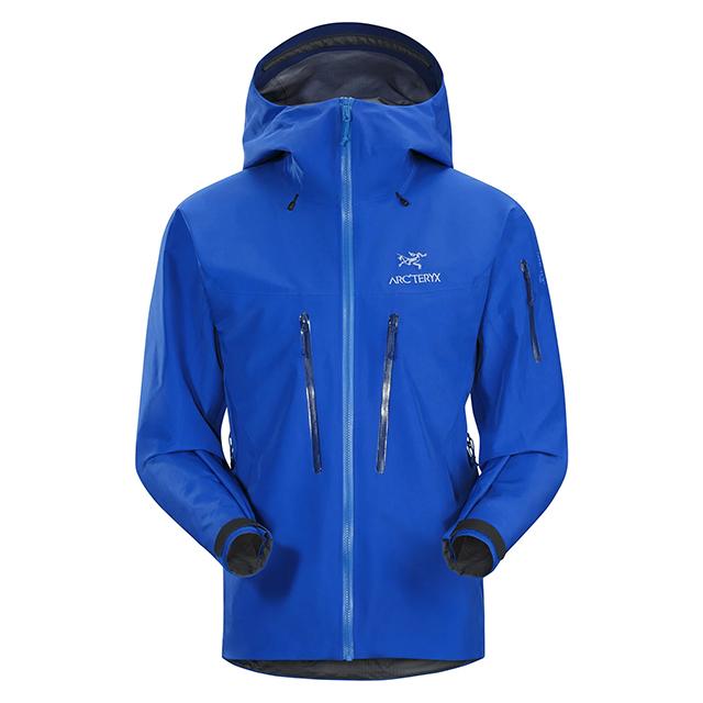 2018 F/W ARC'TERYX 「ALPHA SV JACKET」 18082 STELLERアークテリクス アルファ SV ジャケット ステラー ブルー arcteryx メンズ キャンプ 登山 アウトドア マウンテンパーカー
