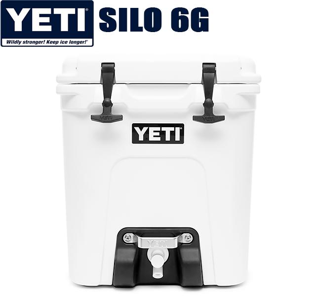YETI COOLERS SILO 6G WATER COOLERyeti イエティ クーラー ボックス ウォーター ジャグ クーラーBOX ホワイト キャンプ アウトドア 釣り 大容量 USA