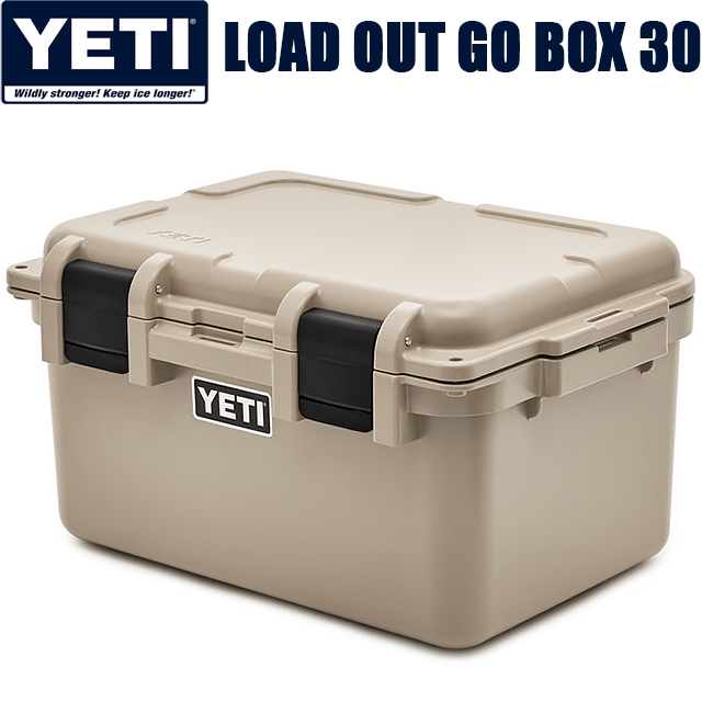 YETI LOADOUT GOBOX 30 DESERT TANyeti イエティ クーラー ゴーボックス30 大容量 デザート タン ベージュ 収納 キャンプ アウトドア 釣り USA