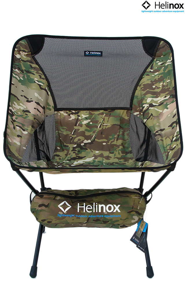 Helinox CHAIR ONE XL CAMO MULTICAM 10089R1ヘリノックス チェアワン カモ XL チェア 折り畳み イス 軽量 椅子 アウトドア キャンプ コンパクトチェア