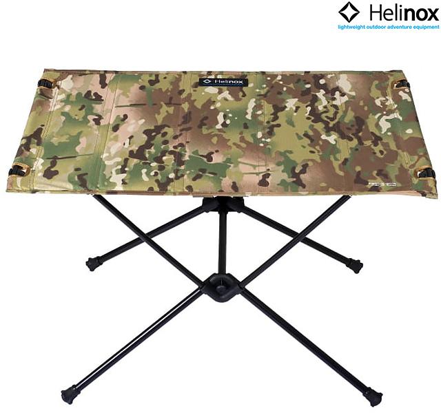 Helinox TABLE ONE HARD TOP CAMO MULTICAM 11048 1822180ヘリノックス テーブル ワン ハードトップ カモ チェア 折り畳み テーブル 軽量 アウトドア キャンプ コンパクト