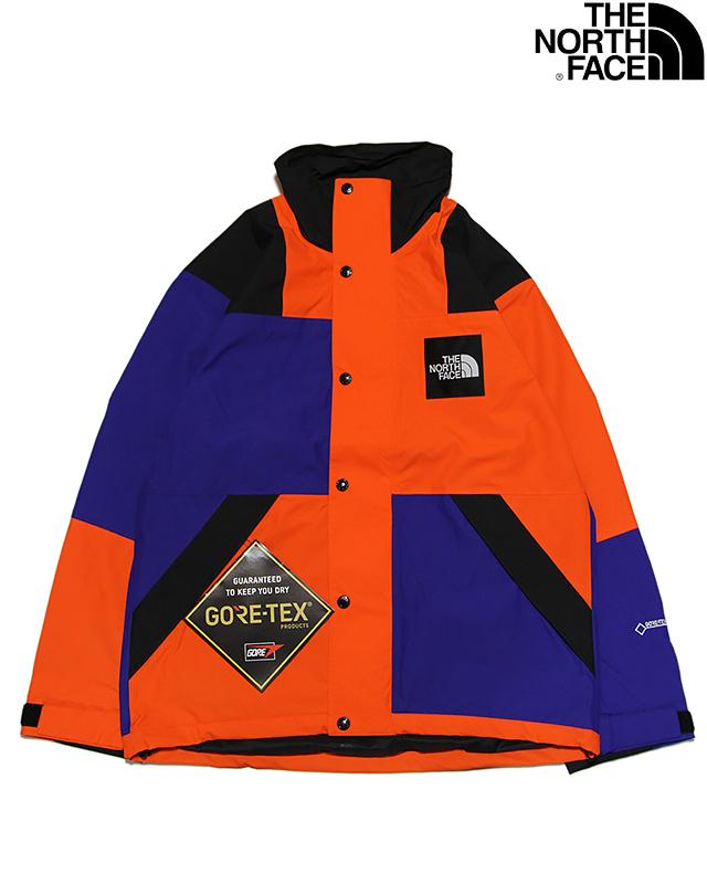 THE NORTH FACE RAGE GTX SHELL JACKET NP11961 AP AZTEC BLUE x PERUSHAN ORANGEザ ノースフェイス ザ・ノース・フェイス レイジ ジーティーエックス シェル ジャケット ブルー オレンジ アウトドア 登山 アウター