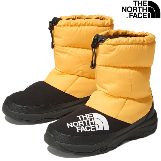 THE NORTH FACE NUPTSE DOWN BOOTIE NF51877 YK TNF YELLOWxBLACKザ ノースフェイス ヌプシ ダウン ブーティー TNF イエロー ブラック UNISEX ユニセックス 男女兼用 ウインター スノー ブーツ