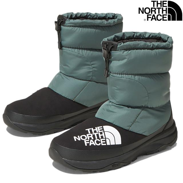 THE NORTH FACE NUPTSE DOWN BOOTIE NF51877 JK JUNGLE GREENxBLACKザ ノースフェイス ヌプシ ダウン ブーティー ジャングルグリーン ブラック UNISEX ユニセックス 男女兼用 ウインター スノー ブーツ シューズ