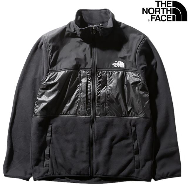 THE NORTH FACE MEN'S BRIGHT SIDE FLEECE JACKET NL22031-K BLACKxASPHALT GRAYザ ノースフェイス ブライト サイド フリース ジャケット ブラック×アスファルトグレー メンズ アウトドア