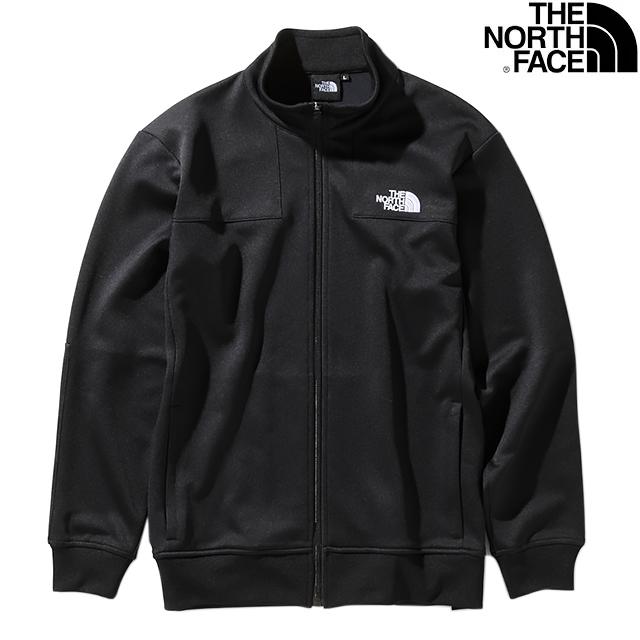 THE NORTH FACE MEN'S JERSEY JACKET NT12050-K BLACKザ ノースフェイス ジャージ ジャケット ブラック メンズ アウトドア
