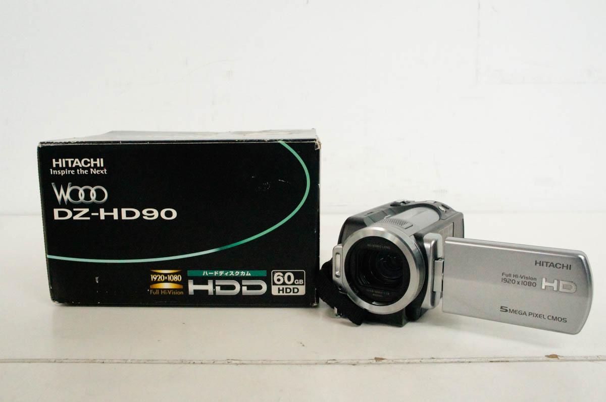【中古】日立HITACHI HDDカム Wooo DZ-HD90