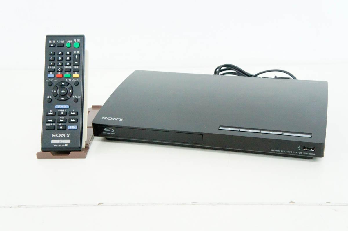 【中古】C SONYソニー ブルーレイディスクプレーヤー BDP-S190 BDプレーヤー