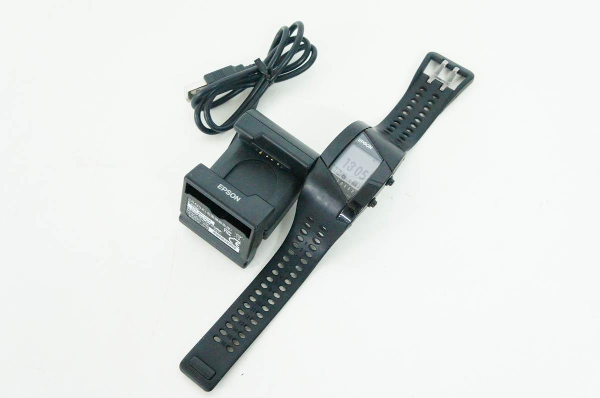 【中古】EPSONエプソン PULSENSE 腕時計 脈拍計測機能付活動量計 PS-500B