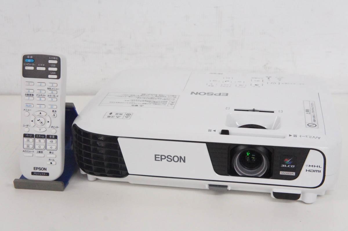 安心の90日保証 中古 人気ショップが最安値挑戦 C EPSONエプソン 3200lm WXGA EB-W31 毎週更新 データプロジェクター