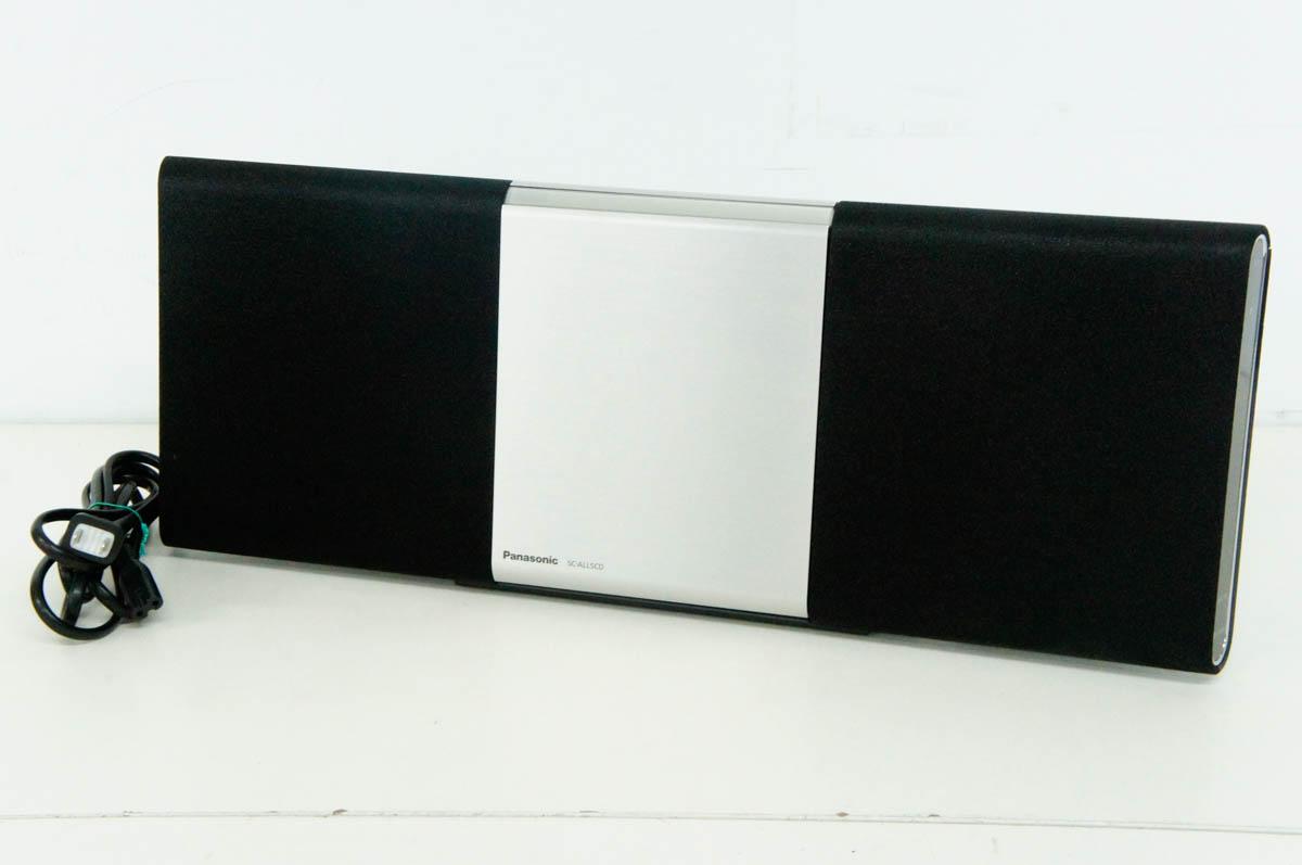 【中古】Panasonicパナソニック コンパクトステレオシステム SC-ALL5CD-K ワイドFM対応 CD/CD-R/RW