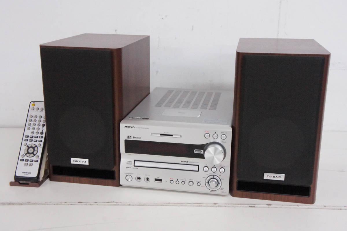 中古 訳あり ONKYOオンキヨー CD SD 人気商品 X-NFR7X USBコンポ 世界の人気ブランド ワイドFM対応 システムコンポ