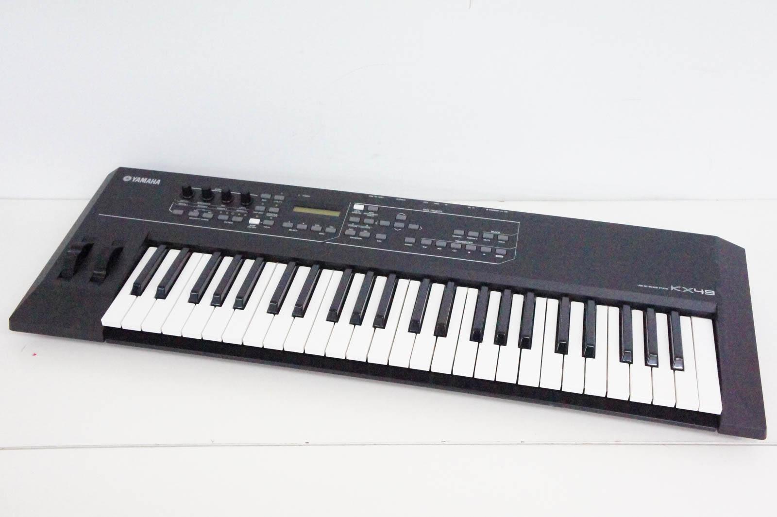 【中古】YAMAHAヤマハ USBキーボードスタジオ KX49