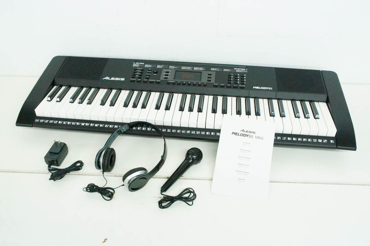 安心の90日保証 中古 Alesis 電子キーボード 61鍵盤 正規品送料無料 MKII 正規店 Melody61