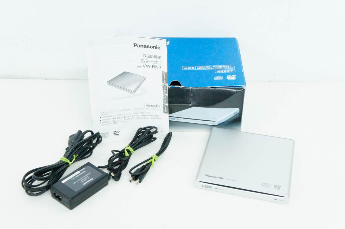 安心の90日保証 新作送料無料 中古 Panasonicパナソニック VW-BN2-S ビデオカメラ用DVDライター 舗 DVDバーナー