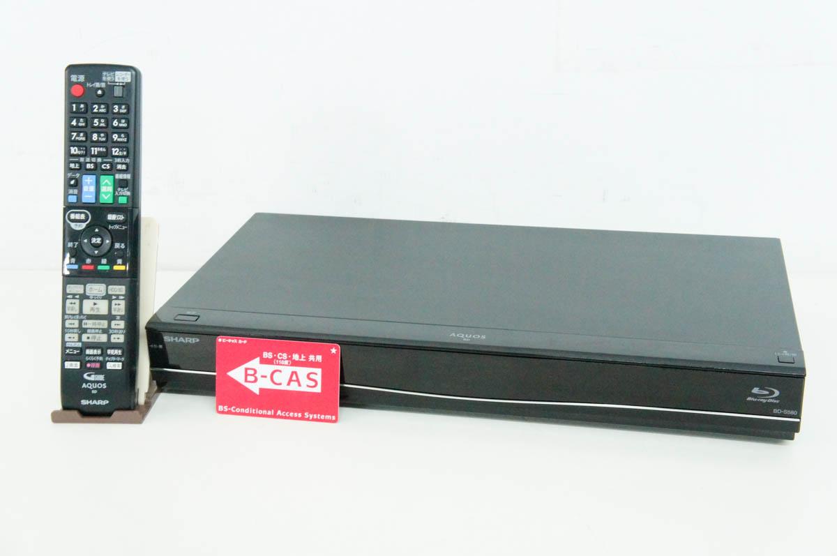 安心の90日保証 中古 SHARPシャープ ブルーレイディスクレコーダー BDレコーダー BD-S580 メーカー再生品 HDD500GB AQUOSアクオスブルーレイ 激安格安割引情報満載