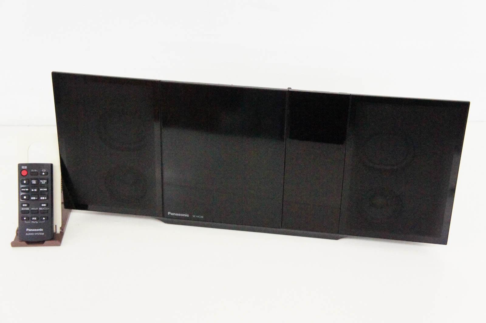【中古】Panasonicパナソニック コンパクトステレオシステム Bluetooth対応 SC-HC39-K オーディオ
