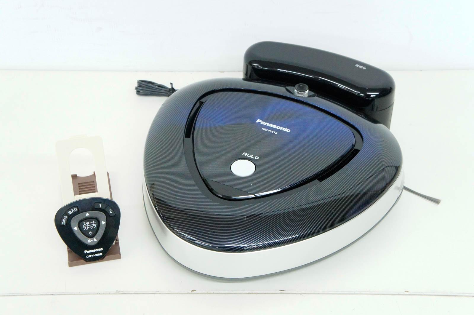 【中古】Panasonicパナソニック ロボット掃除機 RULOルーロ MC-RX1S-K ブラック