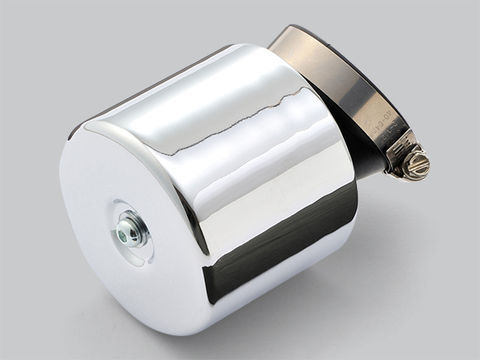 吸入効率を追求した高性能パワーフィルター 卸直営 A Wパワーフィルター45MMアークメッキ 豪華な