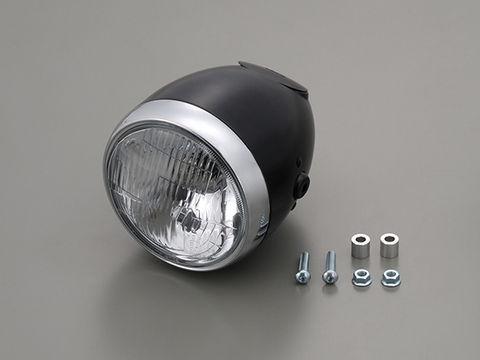 ビンテージSヘッドライト (ブラック)