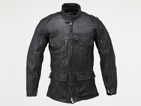 HBR001ロングジャケット BK/L