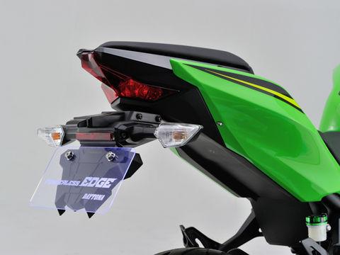 """純正同様 振動に強いPP樹脂を採用した次世代フェンダーレス""""エッジ"""" 授与 モデル着用&注目アイテム フェンダーレスEDGE NINJA400 250"""