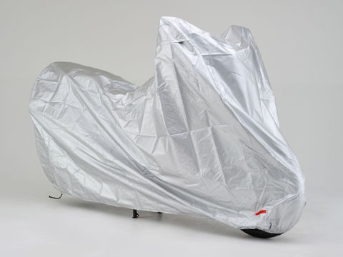 物品 好評のブラックカバーシンプルがグレードアップ バイクカバーSIMPLE 全商品オープニング価格 4L シルバー