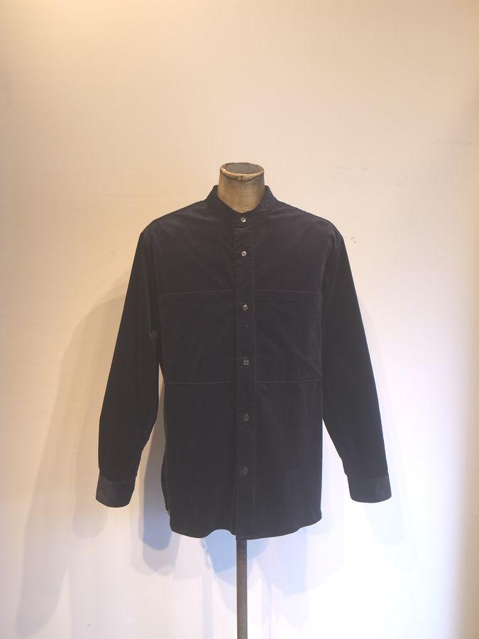 送料込 ■■送料無料■■ STILL BY スティルバイハンド シャツコールバンドカラーシャツ 受注生産品 HAND