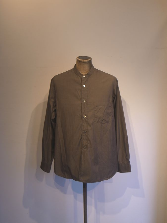STILL BY HAND(スティルバイハンド)ハケメバンドカラーシャツ