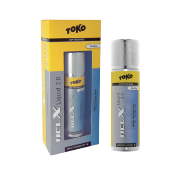 TOKO 〔トコワックス〕 HELX リキッド2.0 ブルー 50ml スキー スノーボード 液体
