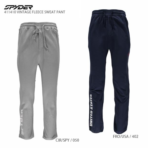SPYDER〔スパイダー スウェットパンツ〕<2017>411410 VINTAGE FLEECE SWEAT PANT〔Sale〕 スキー スノーボード スキー スノーボード〔SA〕