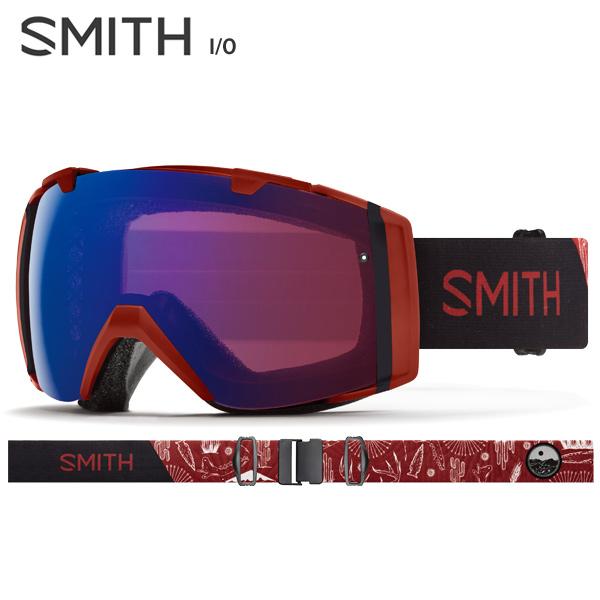 〔全品ポイント5倍!12日20時~18日13時まで〕【18-19 NEWモデル】【数量限定モデル】SMITH 〔スミス スキーゴーグル〕<2019>I/O〔アイオー〕〔Oxide Mojave〕【スペアレンズ付】【送料無料】 スキー スノーボード