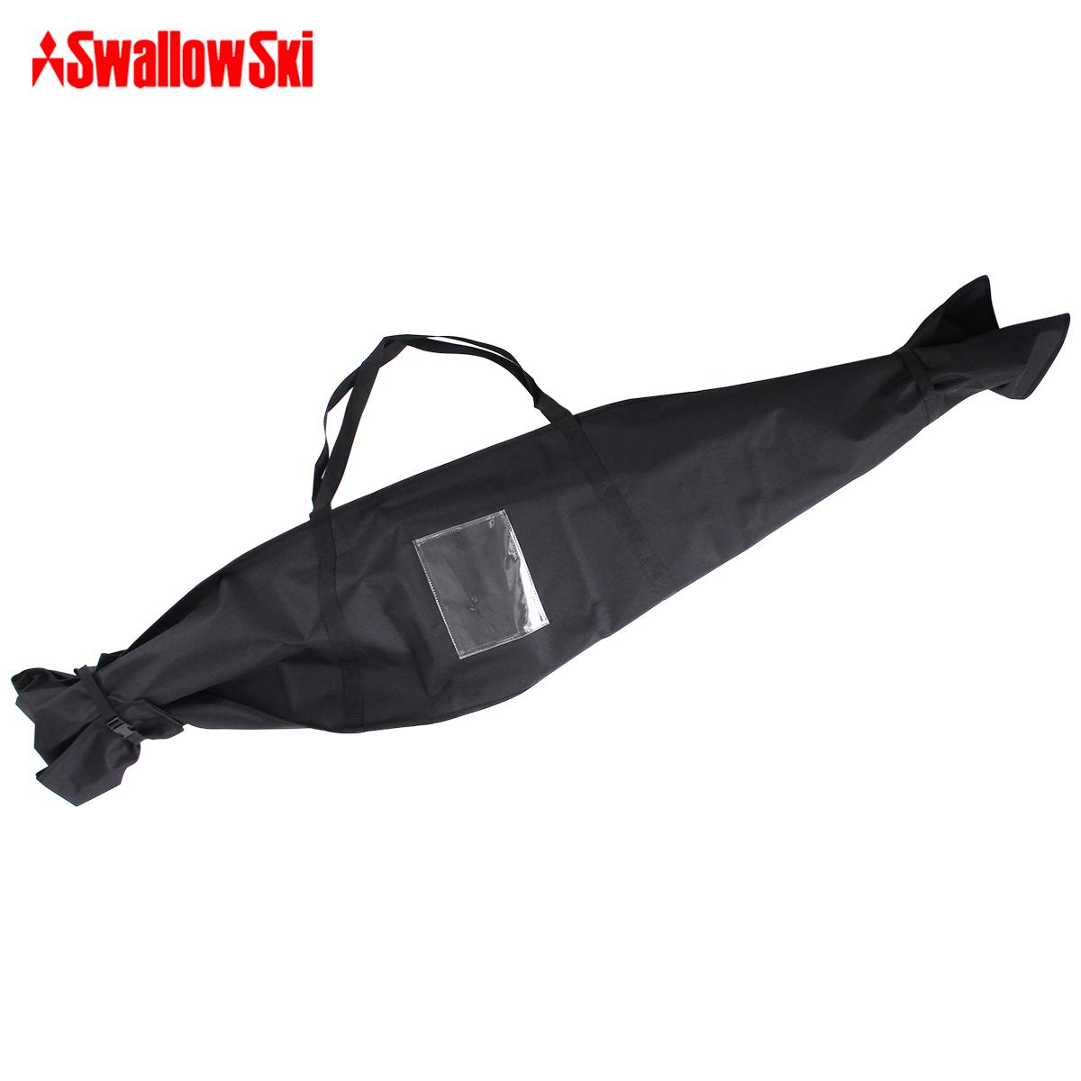 本物◆ 20-21 旧モデル スキー 板 1台 シングル 輸入 ケース Swallow 1台用 17-18 ST-M〔SA〕 スワロー バッグ スキーケース