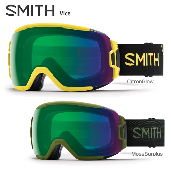 〔全品ポイント5倍!12日20時~18日13時まで〕【18-19 NEWモデル】SMITH 〔スミス スキーゴーグル〕<2019>Vice〔バイス〕【送料無料】 スキー スノーボード