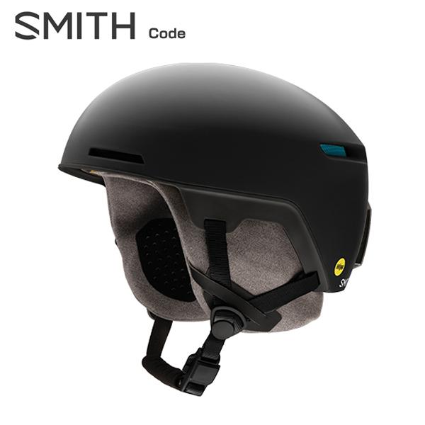 18-19 SMITH〔スミス スキーヘルメット〕<2019>Code〔コード〕〔Matte Black〕【ASIAN FIT】【boa搭載】【送料無料】 スキー スノーボード