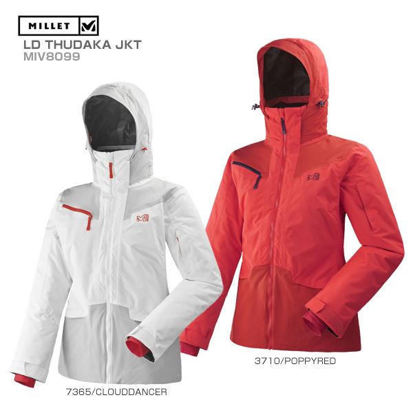 MILLET〔ミレー スキーウェア レディース ジャケット〕<2019>LD THUDAKA JKT/MIV8099 送料無料 スキー スノーボード〔SA〕