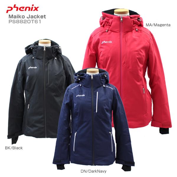 〔全品ポイント5倍!12日20時~18日13時まで〕PHENIX〔フェニックス レディース スキーウェア ジャケット〕<2019>Maiko Jacket〔マイコジャケット〕PS882OT61【送料無料】【MUJI】