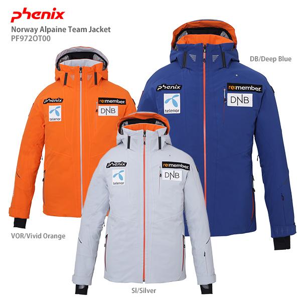 【19-20 NEWモデル】PHENIX〔フェニックス スキーウェア ジャケット〕<2020>Norway Alpine Team Jacket PF972OT00〔ノルウェーアルパインチームジャケット〕【送料無料】