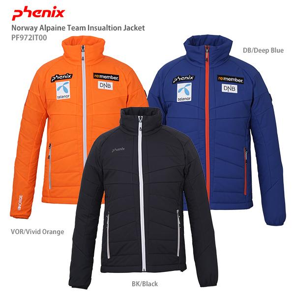 Team Alpine Norway 19-20 PHENIX インナージャケット ミドルレイヤー 【お正月セール割引中】フェニックス Insulation 旧モデル 2020 PF972IT00 Jacket