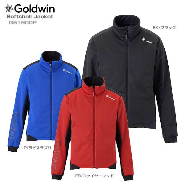 【19-20 NEWモデル】GOLDWIN〔ゴールドウィン ミドルレイヤー〕<2020>Softshell Jacket G51900P【送料無料】