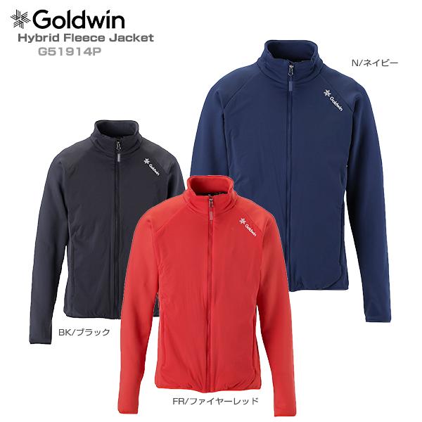 【19-20 NEWモデル】GOLDWIN〔ゴールドウィン ミドルレイヤー〕<2020>Hybrid Fleece Jacket G51914P【送料無料】