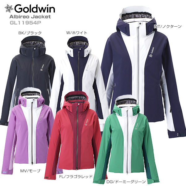 【19-20 NEWモデル】GOLDWIN〔ゴールドウィン スキーウェア レディース ジャケット〕<2020>Albireo Jacket GL11954P【送料無料】