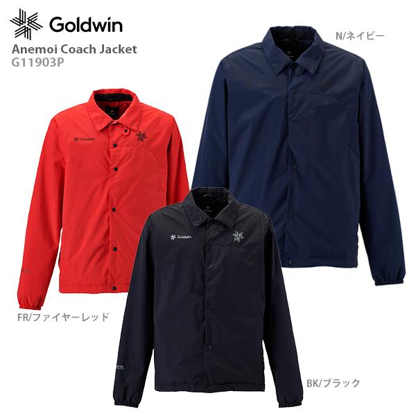 【19-20 NEWモデル】GOLDWIN〔ゴールドウィン ミドルレイヤー〕<2020>Anemoi Coach Jacket G11903P【送料無料】