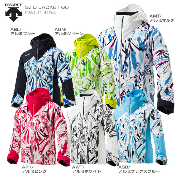 【39ショップ限定!エントリーでP2倍 6/11 01:59まで】DESCENTE デサント スキーウェア ジャケット 2020 S.I.O JACKET 60/DWUOJK54 GARA 送料無料 19-20