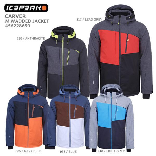 ICEPEAK アイスピーク スキーウェア ジャケット メンズ 2020 CARVER/M WADDED JACKET/456228659 送料無料 19-20 NEWモデル