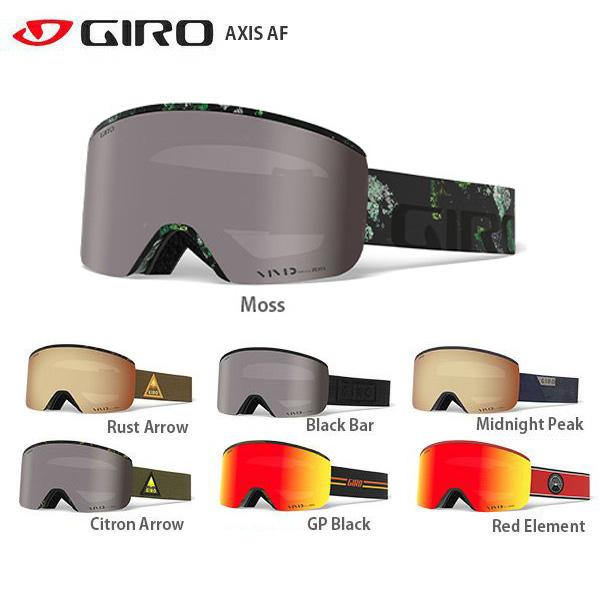 【タイムセール!】GIRO〔ジロ スキーゴーグル〕<2020>AXIS AF【A】〔SAG〕